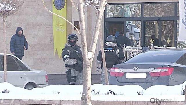Задержание Тохтара Тулешова