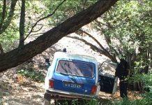 Южно-казахстанские полицейские с оружием на плечах напугали отдыхающих в горном ущелье Машат
