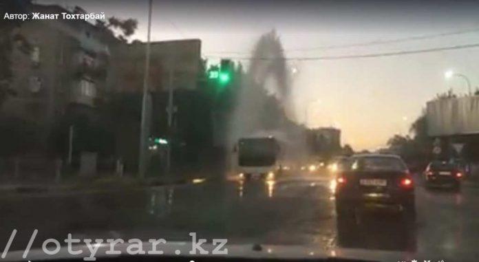 Пожарные сорвали гидрант