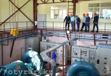 Мини-гидроэлектростанция в ЮКО