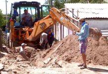 В Шымкенте ремонт библиотеки лишил воды жителей трех улиц