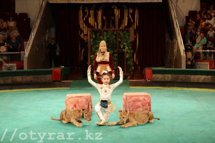 «Оңтүстік-Цирк» впервые в истории казахстанского цирка поставил постановку «Томирис»