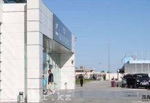 Аэропорт в Актау