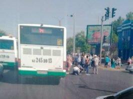 В Шымкенте по факту наезда на пешехода возбуждено уголовное дело