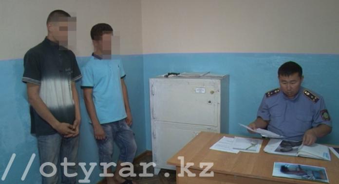 Полицейские Шымкента задержали подозреваемых в серии краж из дачных домов