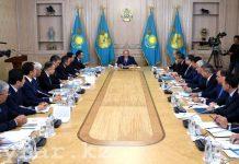 Встреча акимов областей с президентом