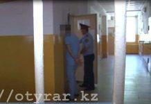 """Полицейские Шымкента задержали по """"горячим следам"""" квартирного вора"""