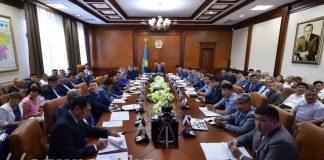 Селекторное заседание в областном акимате ЮКО