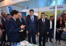 В Астане проходит выставка южноказахстанских товаропроизводителей «Оңтүстік өнімдері»