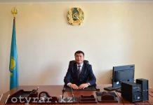 Новый аким Ордабасинского района