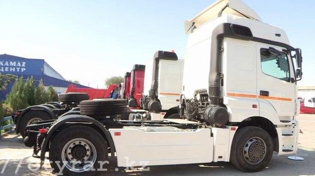 В Шымкенте продают КамАЗы с двигателем от Mersedes