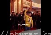 Молодые люди устроили переполох в главной мечети Шымкента