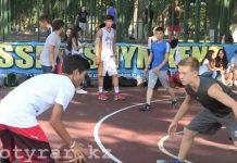 Благотворительный спортивный турнир по стритболу