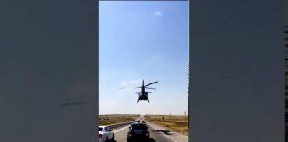 Пафосный Шымкент: свадебный кортеж сопровождает вертолет