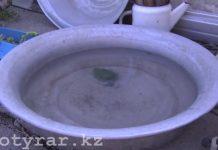 Жители Кайнар булака вот уже год живут без питьевой воды