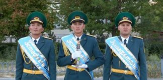 «Летящего орла» получили пограничники Сарыагашского отряда ЮКО