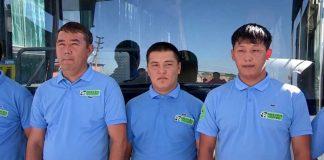 """В компании """"Green Bus"""" отметили профессиональный праздник"""