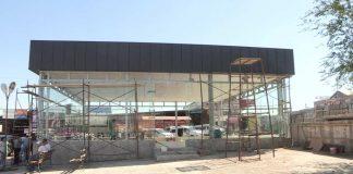"""В международном автовокзале """"Самал"""" на днях откроют новый зал ожидания для пассажиров"""