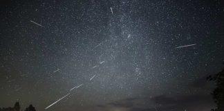 Метеоритный поток Персеиды