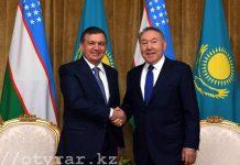Н. Назарбаев, Ш. Мирзиёев