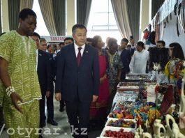 В Шымкенте открылась африканская выставка