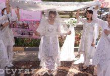 Салем беру на празднике узбекского ЭКЦ