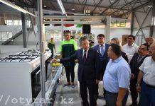 В ЮКО узбекские инвесторы запустили цех по сборке бытовых газовых плит