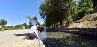 Грандиозную работу провели власти города, чтобы защитить Шымкент от подтоплений