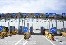 Платная автодорога в Казахстане