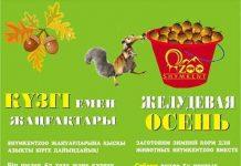 Зоопарк объявил желудевую осень