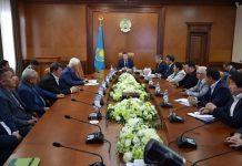 Аким ЮКО встретился с руководителями компаний индустриальных зон «Оңтүстік», «Тассай», «Бадам»
