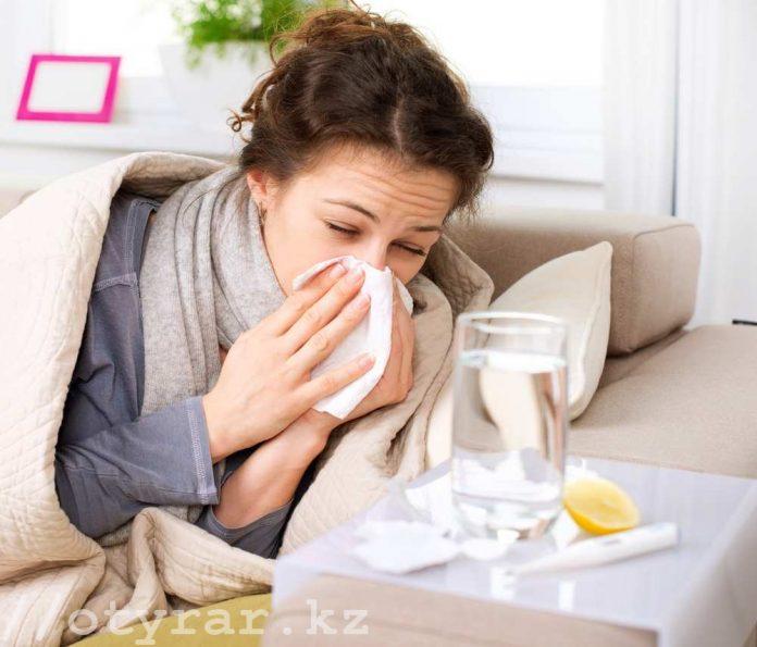 Когда в Казахстане ожидать подъема заболеваемости гриппом и ОРВИ
