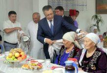Аким ЮКО посетил санаторий для ветеранов