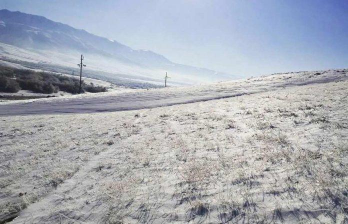 Снег в ЮКО