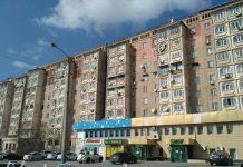 Многоэтажки Шымкента