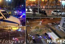 Беспорядки в Астане
