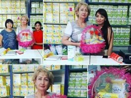 Открытие магазина детского питания