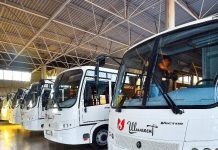 Новые автобусы закупили в транспортной компании
