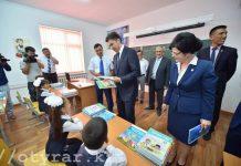 2 сентября в Шымкенте открылись новые школы