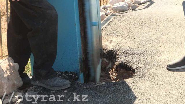 Ящики для водомеров утопили в асфальте