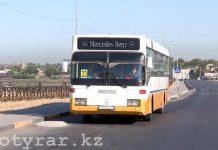 33-маршрут в Шымкенте едет, куда пожелает