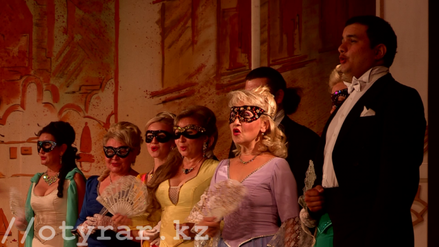 Карагандинская оперетта в Шымкенте