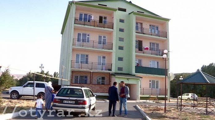 В Састобе началась модернизация жилых домов