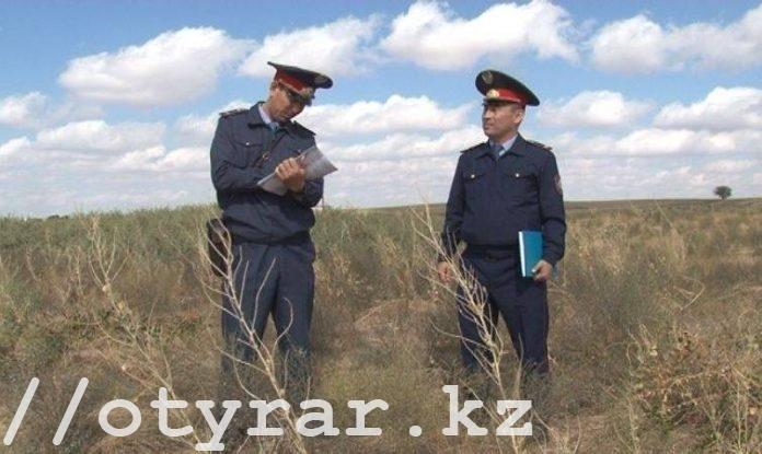 Ордабасинские полицейские