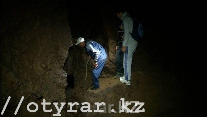 Неизвестная пещера в ЮКО