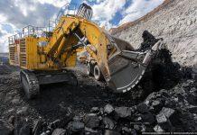 Угольный разрез в Казахстане