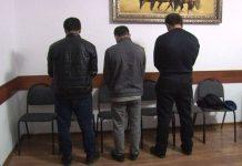 Задержанные подозреваемые в краже