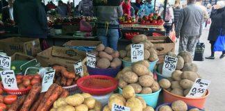 Цены на картошку в Белорусии