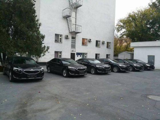 Служебные авто акимата опечатаны