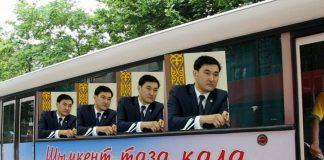 Портрет Куата Жуматаева появится на всех автобусах